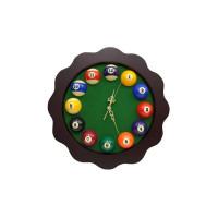 Часы FLOREUS, 39x39 см, зеленый
