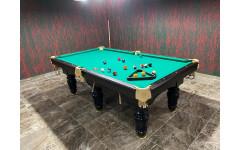 Бильярдный стол Барон II Пул 9ф пул сланец 25 мм +