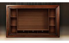 Модуль для книг и TV с полкой. Багет Фоджи