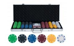 Набор для покера на 500 фишек без номинала