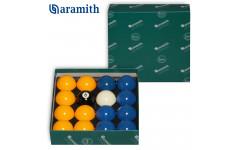 Шары Aramith Casino Blue & Yellow 8Pool ø50,8мм биток ø47,6мм
