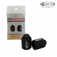 Набор для защиты бильярдной наклейки Kamui Tip Protector +Tip Burnisher ø11.5-13мм черный 1 шт.