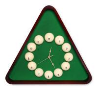 Часы Fortuna Бильярд TR2633 махагон 50х57см