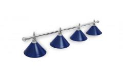 Светильник Prestige Silver Blue 4 плафона