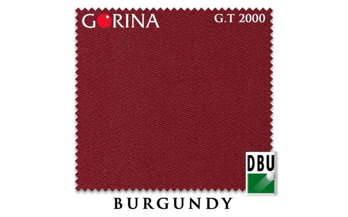 Сукно Gorina Granito Tournament 2000 197см Burgundy