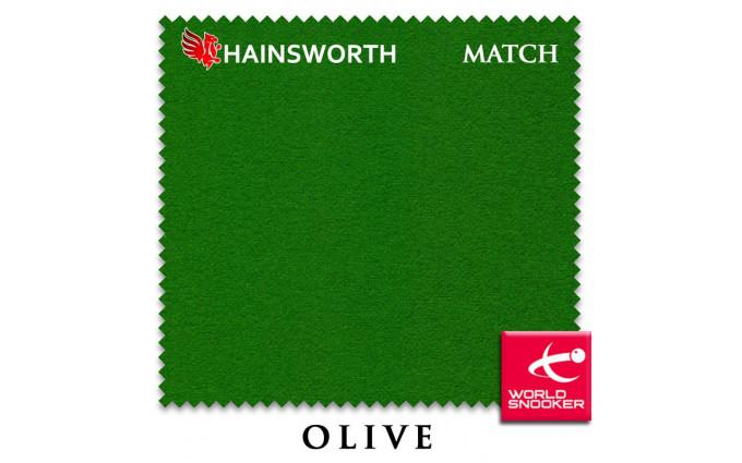 Сукно Hainsworth Match Snooker 195см Olive