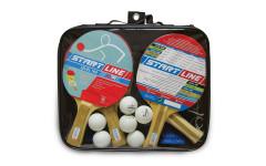 Набор теннисный ракетки Level 100 4шт, мячи Club Select 6шт, сетка с креплением