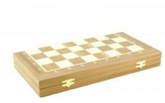 Шахматный ларец складной махагон, 40мм