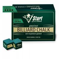 Мел Startbilliards 4 звезды зеленый (144шт)