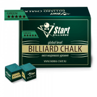 Мел Startbilliards 5 звезд зеленый (144шт)
