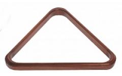 Треугольник 68 мм Т-2-1 сосна (Черный, матовый лак)