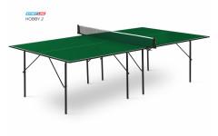 Теннисный стол Start Line Hobby 2 green