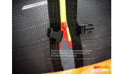 Батут GLOBAL SLF 10 футов с внутренней сеткой и лестницей