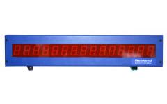 ЖК индикатор системы учета времени